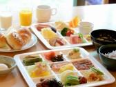 美味しくって体に優しい和洋朝食バイキング♪
